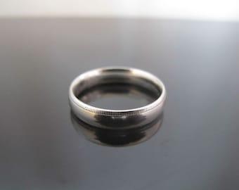 Men's Platinum Comfort Fit 5mm Wedding Band by Benchmark.