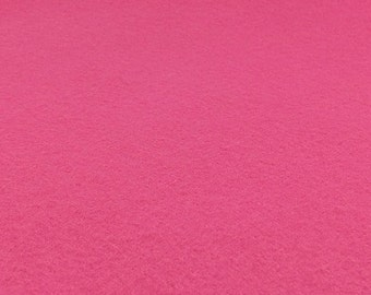 Candy Pink Felt Sheets - 6 pcs - Rainbow Classic Eco Fi Craft Felt Supplies