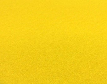 Yellow Felt Sheets - 6 pcs - Rainbow Classic Eco Fi Craft Felt Supplies