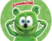 Gummibär (The Gummy Bear) Crazy Sticker