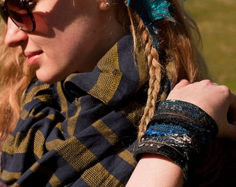 Large Fabric Wrist Cuff