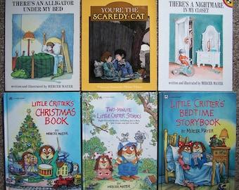 LITTLE CRITTER Book Lot 34 Mercer Mayer Picture Books