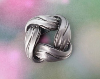 vintage brooch pin jewelry costume silver