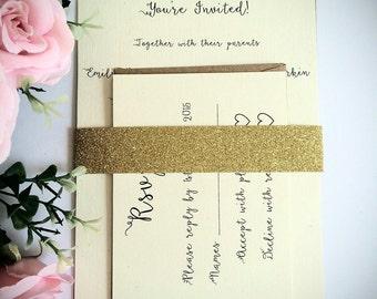 Wedding Invitation sample simple wedding invite