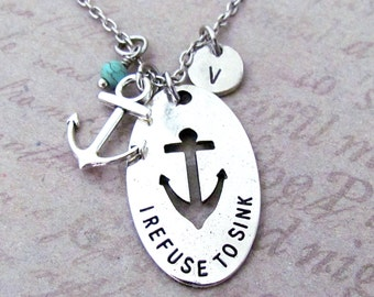Running Shoe Anchor Charm