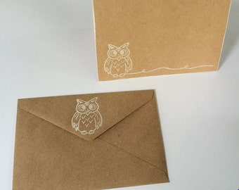 Owl Card Set
