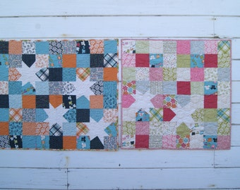 Lucy's Crab Shack Boy/Girl Baby Quilts (2)