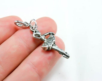 Ballerina Charm. Ballet Dancer Charm. Girls Dance Lover Charm. Ballet Dancer. SCC293