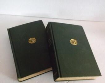 2 Vintage Book - Book Decoration Robert Louis Stevenson dated 1907- 2 Books for Decoration