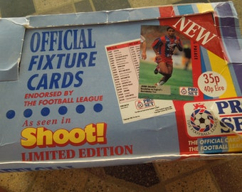Vintage Soccer Cards, 1991-92 English Soccer League, Loose Cards, Sell in Lots of 15 Cards