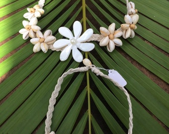 Tahiti set   Anklet and necklace