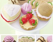 Amigurumi Afternoon Tea Pattern - Crochet Pattern by DMC