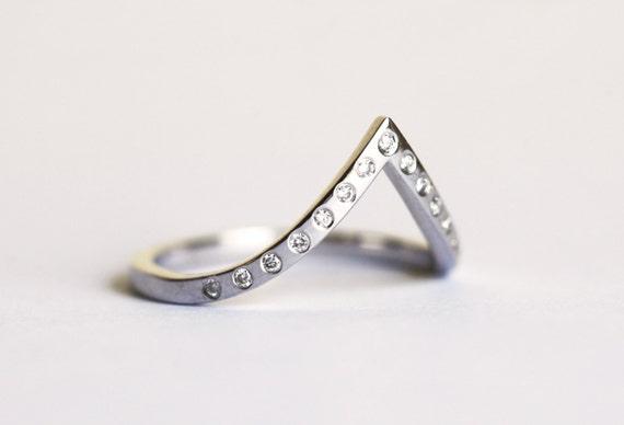 white gold wedding band thin white gold ring white gold