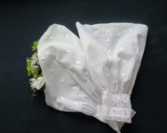 Two Beautiful Hand Embroidered sleeves Pleated Cuffs for Dress or Fancy Dress..