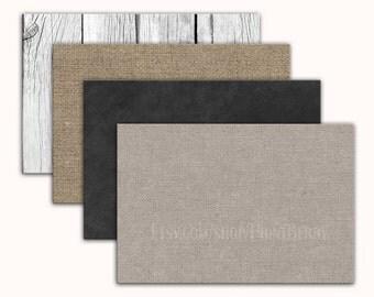 4x6 Envelopes Printable envelope template Burlap envelopes Chalkboard envelopes chalkboard Digital download Burlap digital printable PDF