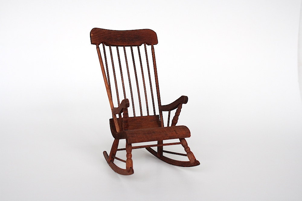 Miniature Red Rocking Chair ~ Used rocking chairs deals on blocks