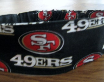 NFL- San Francisco 49ers Headband-Fabric/Lined  Shipping Included