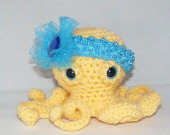 Octopus Amigurumi Plush : amigurumi -pattern octopus plush Etsy