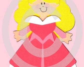 Princess Aurora Scrapbook Die Cut Paper Doll Disney Project Life