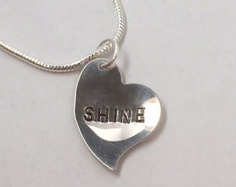 SHINE Necklace in Sterling Silver