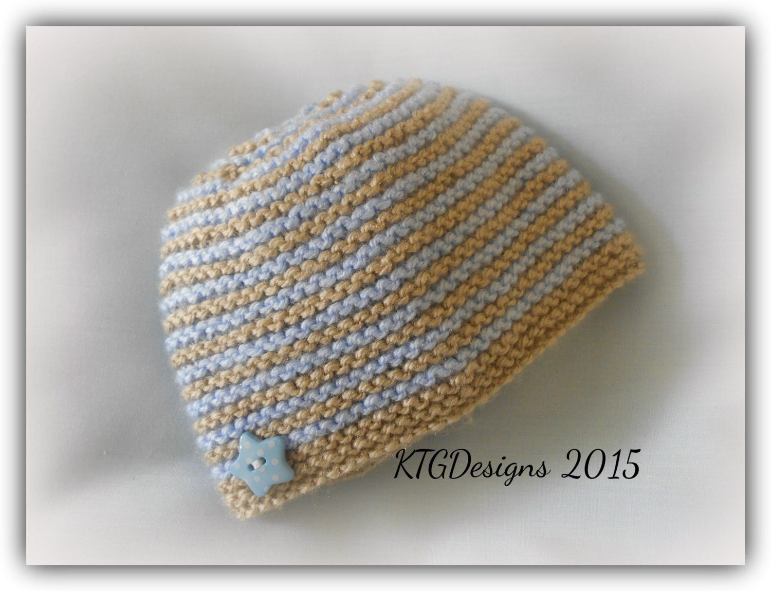 Easy Baby Hat Knitting Pattern For Beginners : Dk knitting pattern to knit baby beanie hat easy beginners