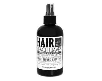 Coconut Milk and Peaches Beach Waves - 8oz