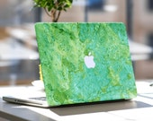 "Teal Stone Vinyl Skin Decal for Apple Macbook Air & Mac Pro Retina , New Macbook 12"" , Dell , HP , Toshiba , Asus , Windows , Samsung"