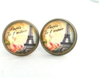 Earrings Paris Je táime