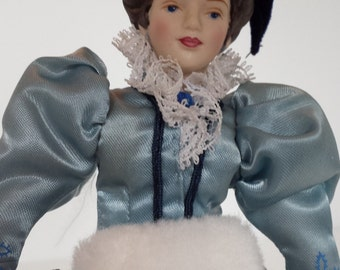AVON Collector Porcelain Victorian Lady - 1987