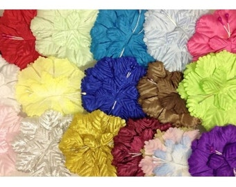 25 carnation flower capia base for capias corsages and crafts