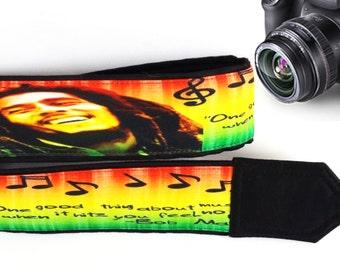 Bob Marley Camera Strap. Music Camera Strap. Notes Camera Strap. Camera Accessories