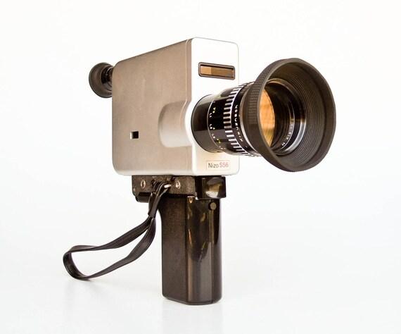 vintage super 8 camera braun nizo s56 60 39 s by thecuriouscaseshop. Black Bedroom Furniture Sets. Home Design Ideas