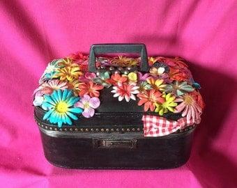 Flower Child makeup case