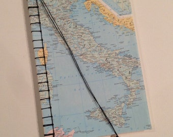 Atlas Travel Journal - Field Notes - MADE TO ORDER!