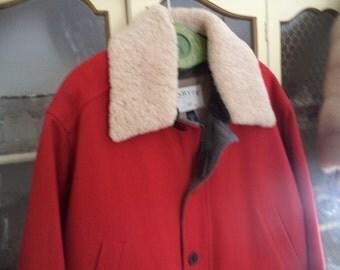 Vintage Orvis Mens Winter Coat Size XXL NEW UNUSED