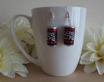 Cherry Coke Earrings
