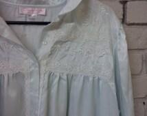 Oscar De La Renta Nightgown Designer Nightie Oscar De La Renta Pink Label Sleepwear
