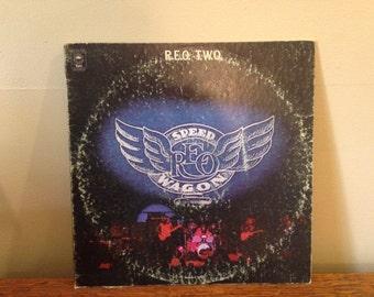 "REO Speedwagon ""REO TWO"" vinyl record"