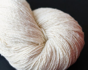 Hand Spun Organic Cotton Yarn 2 ply