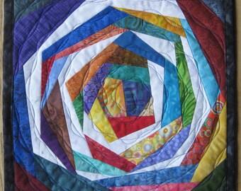Art Quilt Candy Jar 3