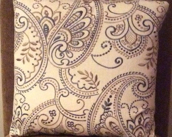 Tristan pillow cover 18x18in
