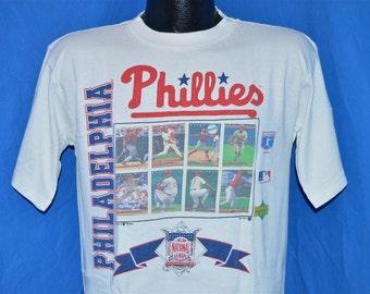 90s Philadelphia Phillies White Vintage t-shirt Medium