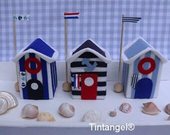 Beach houses Dutch colors - DIY kit