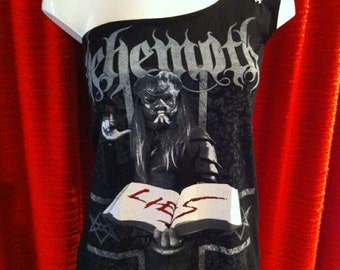 Behemoth Lies One Shoulder Dress size S-M