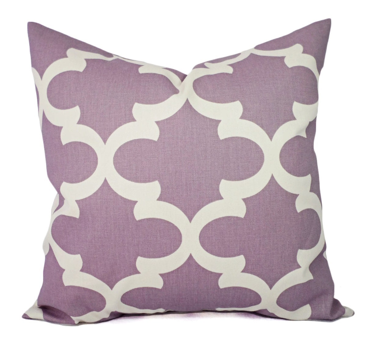 Two Purple Pillow Covers Decorative Pillow by CastawayCoveDecor