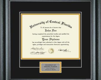 Diploma Frame (11x14 Diploma)