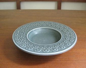 Quistgaard AZUR BLUE - Round Bowl - Kronjyden - Mid Century Modern - Danish Pottery