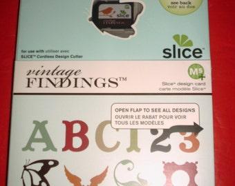 Making Memories Slice Design Card - Vintage Findings, Brand new