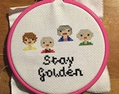 Stay Golden - Golden Girls Cross Stitch