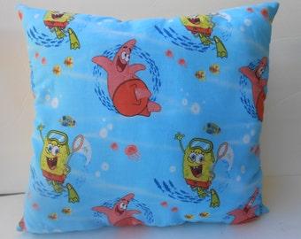 16 x 20 sponge friends pillow